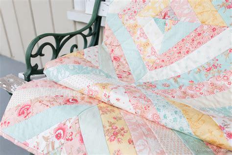 Quilt Handmade - vintage floral custom quilt 187 loganberry handmade