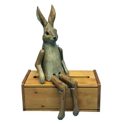 wooden rabbit shelf sitter ewoodarts