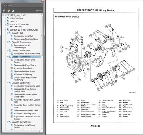Hitachi Ex200 1 Parts Service Repair Workshop Manual