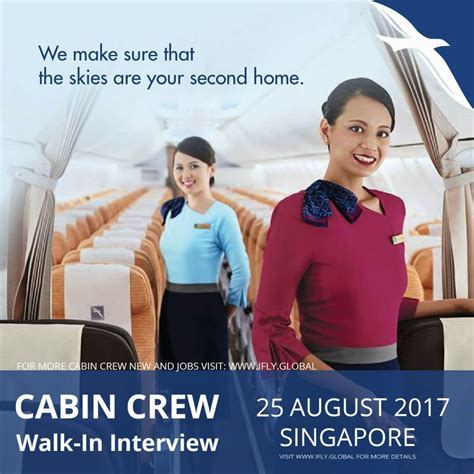 career cabin crew silkair cabin crew walk in august 25th 2017