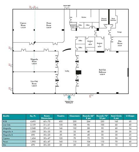 austin convention center floor plan 100 austin convention center map 53 hotels near austin