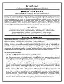 Business Process Analyst Sle Resume by Senior Business Analyst Resume Ilivearticles Info