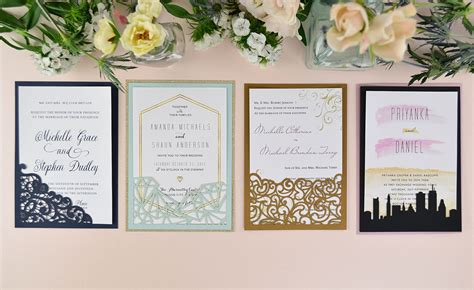 Wedding Invitations Diy by How To Diy Laser Wedding Invitations With Slide In Cards
