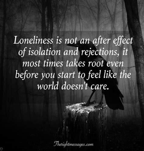 Isolation And Loneliness Quotes