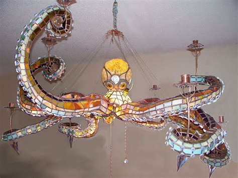 25 Of The Most Creative L And Chandelier Designs Octopus Light Fixture