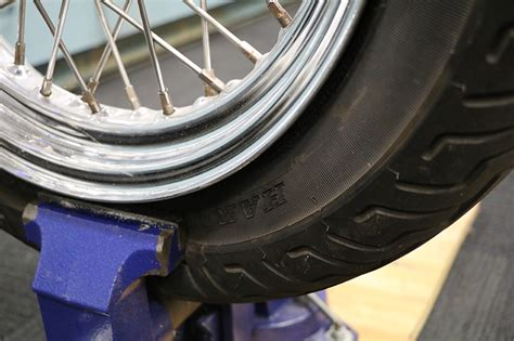 tire bead damage repair how to change motorcycle tires rideapart