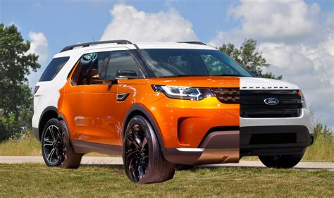 land rover explorer land rover discovery vs ford explorer fiat test drive