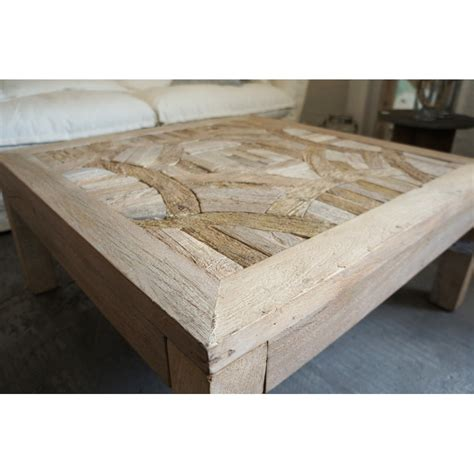 Table Basse Bois Recycle