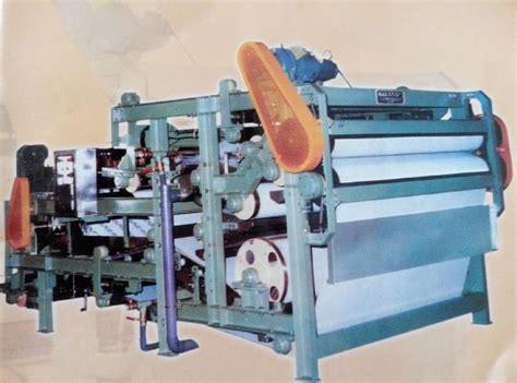 Mesin Press Linen filter belt press pt jaya abadi makmur