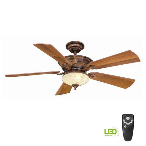 luxury installing ceiling fan light kit dkbzaweb hton bay bercello estates 52 in led indoor volterra bronze ceiling fan with light kit and