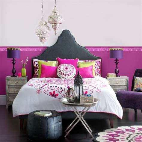 bright colours for bedrooms moroccan bright bedroom bedroom colour schemes housetohome co uk