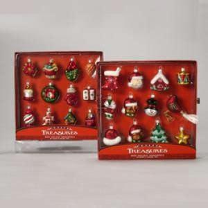 amazon com kurt adler petite treasures miniature glass