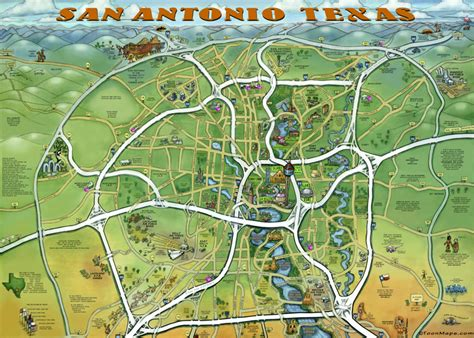 san antonio texas on map san antonio texas map