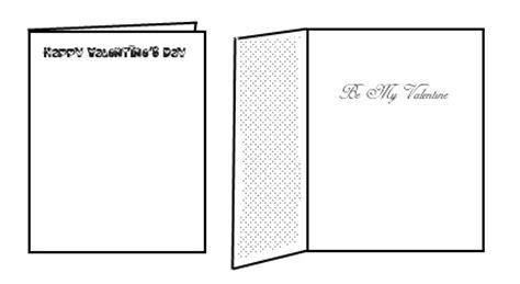 printable valentine cards quarter fold free printable valentines day cards