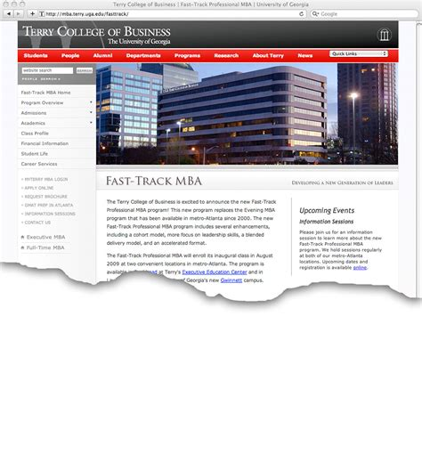 2 Year Fast Track Mba Programs Gmu by Fast Track M B A Program Launches New Site Uga Today