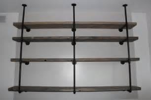 industrial wall shelves sylvie liv industrial rustic shelf tutorial