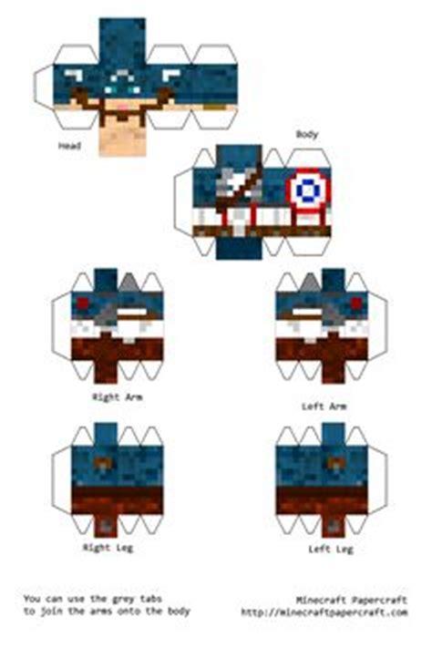 Captain America Papercraft - papercraft captain america and iron diy