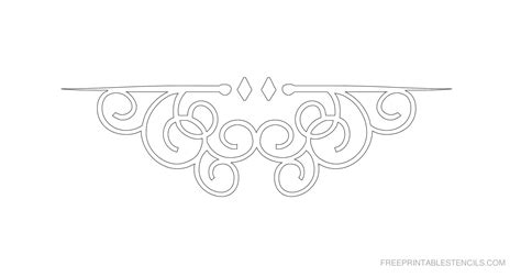printable decorative stencils border stencils to print free printable stencils