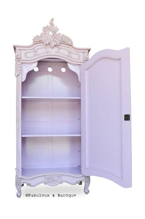 Single Mirror Closet Door Christelle Single Door Mirrored Wardrobe Lilac Fabulous And Baroque