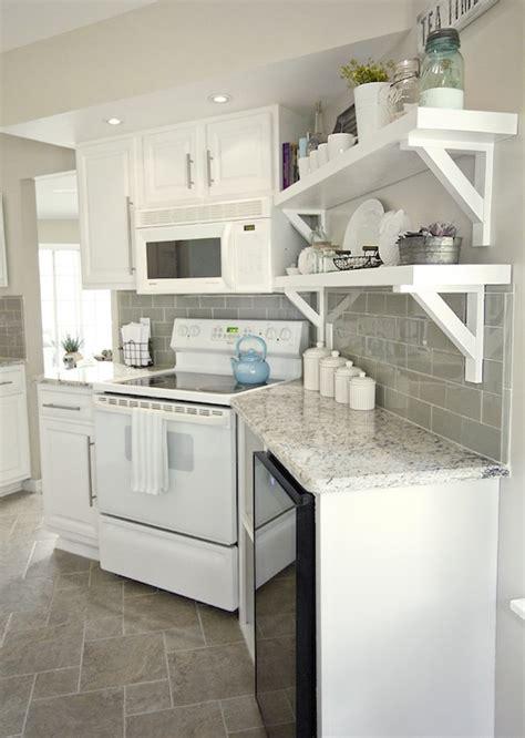 gray subway tile backsplash transitional kitchen valspar tranquil sue design