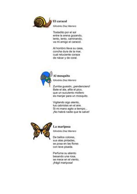 poemas de insectos para ninos calam 233 o poemas para ni 241 os prueba