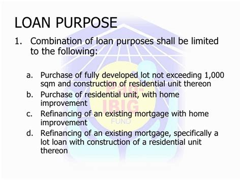 requirements for pag ibig house improvement loan guidelines on the pag ibig fund end user home