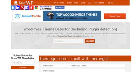 detector de themes wordpress 5 of the best wordpress theme tetectors for 2017 handpicked