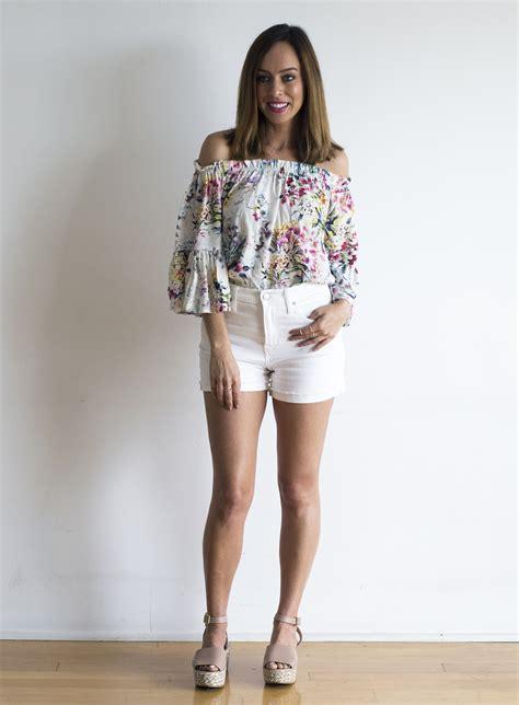 ways  wear white denim  summer  summer