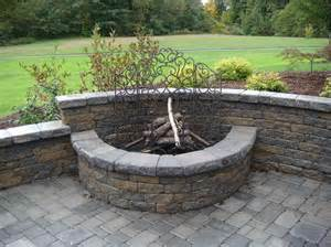 Outdoor Firepit Kit Home Remodeling The Choice Of Outdoor Pit Kits In The Backyards The Choice Of Outdoor