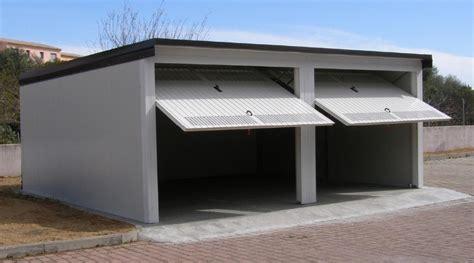 box auto prefabbricati in cemento prezzi box auto prefabbricati in lamiera zincata o coibentati