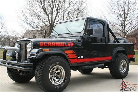 Cj8 Jeep 1983 Jeep Scrambler Cj8