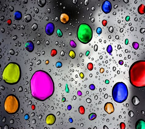 wallpaper colorful raindrops 53 best images about backgrounds on pinterest iphone