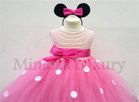 Set Tutu Mickey 3 9bulan minnie mouse dress minnie mouse birthday dress flower
