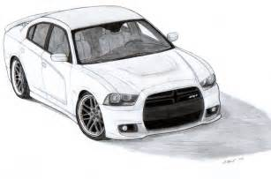 Dodge Charger Drawing 2012 Dodge Charger Srt8 Drawing By Vertualissimo On Deviantart