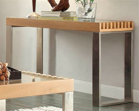 raeburn leather recliner sofa table raeburn by homelegance el 3511 05