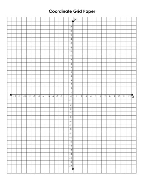 printable graph paper with 6 graphs 6 best images of printable coordinate picture graphs
