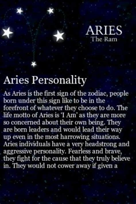 aries traits app for android
