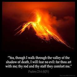 Your Rod And Your Staff They Comfort Me Psalms 23 4 Inspirational Image