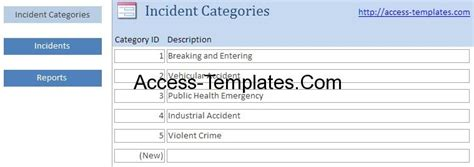 system incident report template access templates incident management system and report