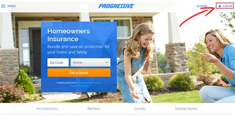 progressive homeowners insurance login make a payment