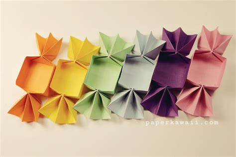 Simple Origami Tutorial - sweet origami box tutorial paper kawaii