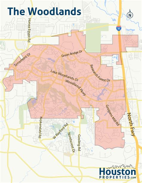 map of woodlands texas the woodlands tx real estate woodlands homes for sale