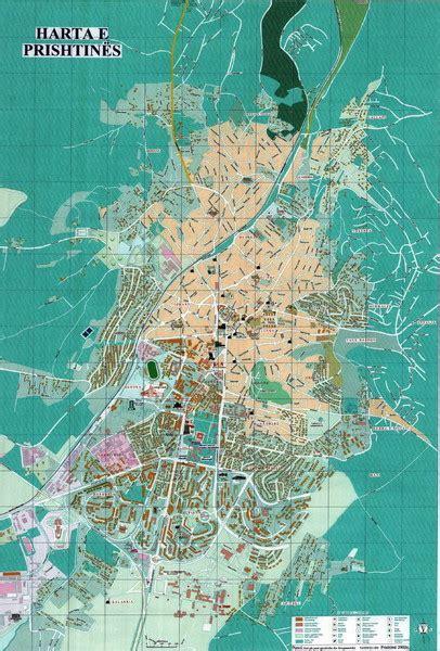 maps kosovo satellite pristina tourist map pristina kosovo mappery