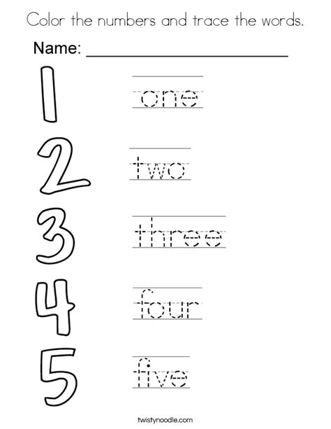 number words coloring page pretty design numbers coloring pages coloring pages