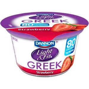 dannon light and fit dannon light fit strawberry nonfat yogurt 5 3 oz