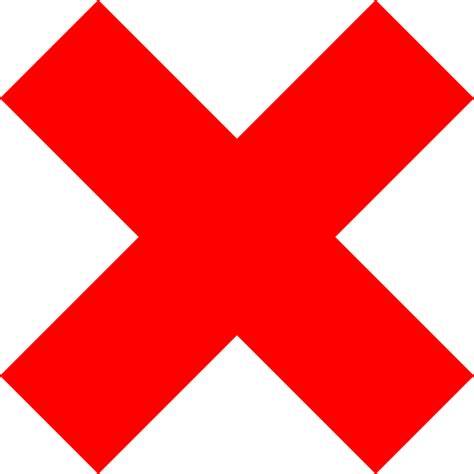 Free Vector Graphic Delete Remove Cross Red Cancel Free Vector Graphic Delete Remove Cross Cancel