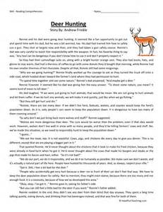 reading comprehension 6th grade worksheets abitlikethis
