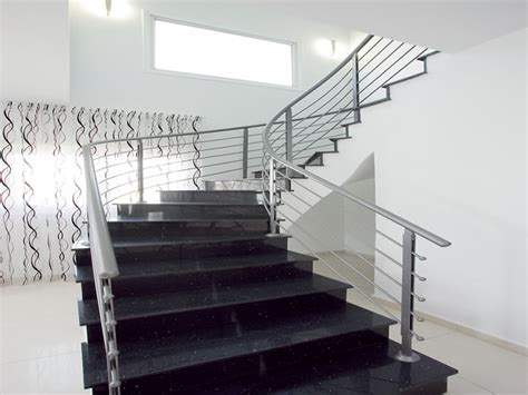 modern banisters for stairs modern stair banisters technometaliki