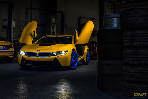 modified bmw i8 custom yellow bmw i8 by turner motorsport for sale gtspirit