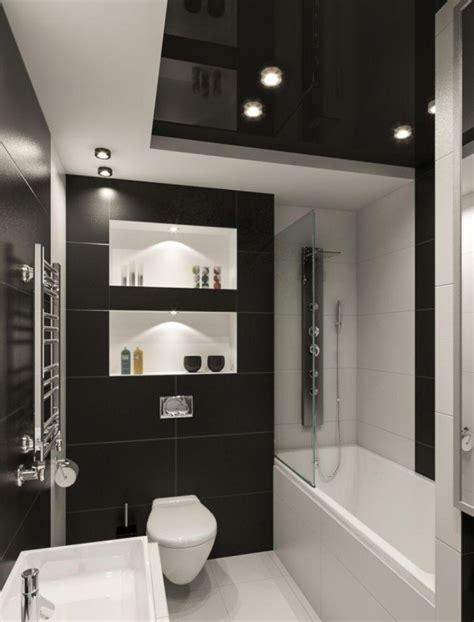 badezimmer fliesen kleines badezimmer fliesen ideen schwarz weiss kombination